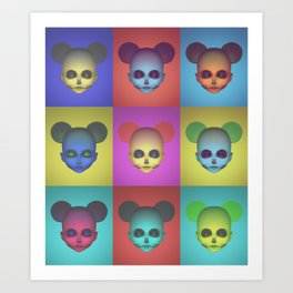 Acid Minni Svetlana Art Print