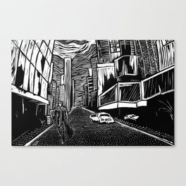 The Musician Canvas Print
