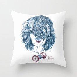 HaarRolle Throw Pillow