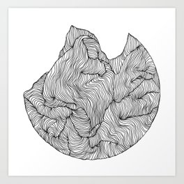 Crevice Art Print