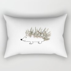 Nail Hedgehog Rectangular Pillow