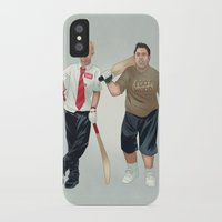 shaun of the dead iPhone & iPod Cases featuring Shaun of the Dead by Dave Collinson