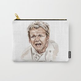 Gordon Ramsay - It's RAW Illustration Carry-All Pouch