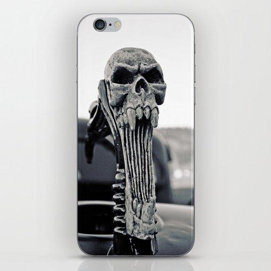 Skull ornament iPhone & iPod Skin
