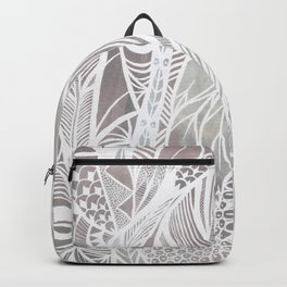 Earthy Feathers Backpack