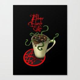 Elder Blend Coffee Canvas Print