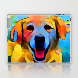 Golden Retriever 3 Laptop & iPad Skin