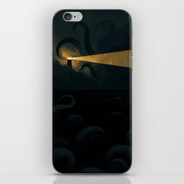 Good job leading that ship onto the rocks dude, high five! iPhone Skin