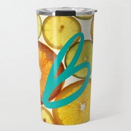 Citrus - Citron (Recettes du Bonheur) Travel Mug