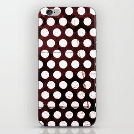 Metal Dots iPhone Skin