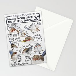 Bird no. 202: Pick-you-ups Stationery Cards