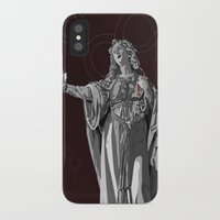 agnes cecile iPhone & iPod Cases featuring Agnes by Kelly Kistler