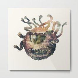 Beholder Metal Print