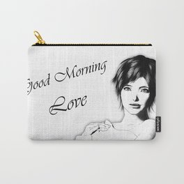Good Morning Love Carry-All Pouch