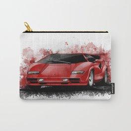 1985 Lamborghini Countach Carry-All Pouch