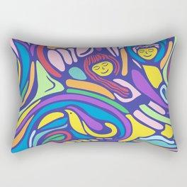 El Tucán Rectangular Pillow