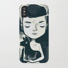 audrey pet deer iPhone X Slim Case