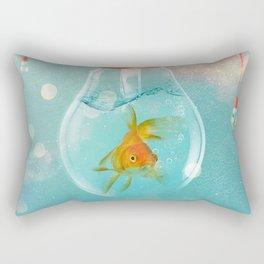 Goldfish Ideas Rectangular Pillow