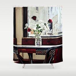 Cafe Break Shower Curtain