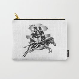 ZEBRA VESSEL Carry-All Pouch