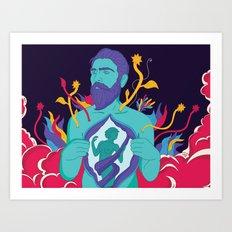 Freedom - Men Art Print