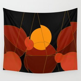 The Yellow One is the Sun Wall Tapestry