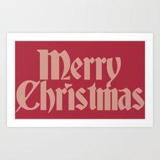 Merry Christmas Candice Version Art Print