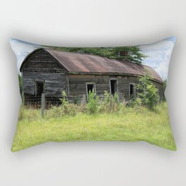 Farmhouse Abandoned Rectangular Pillow