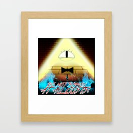 DO NOT SUMMON AT ALL COSTS! Framed Art Print