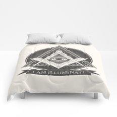 I am illuminati Comforters