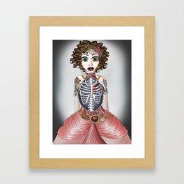 Ribcaged Framed Art Print