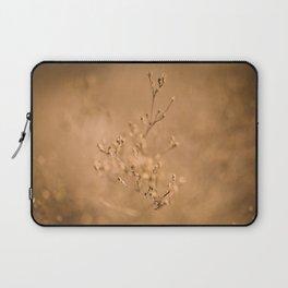 Warm, Golden Flowers Laptop Sleeve