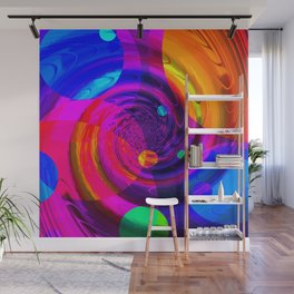 Re-Created Twisters No. 10 by Robert S. Lee Wall Mural