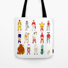 Fast Food Butts V2 Tote Bag