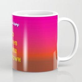 Red always turns to Brown - Towels & more Coffee Mug