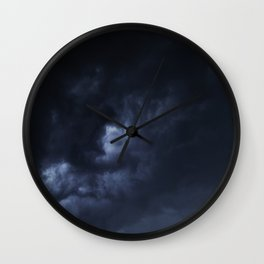 Evening Thunderstorms Wall Clock