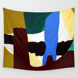 Arthur Dove Mars, Violet and Blue Wall Tapestry