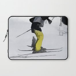 Natural High   - Ski Jump Landing Laptop Sleeve