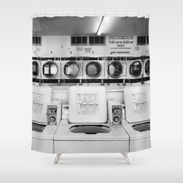 Fresno Laundromat Shower Curtain
