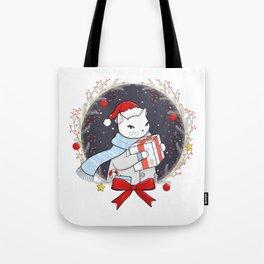 Santa Claws Delivery Service Tote Bag