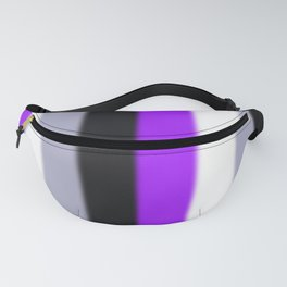 Asexual Pride Flag v2 Fanny Pack