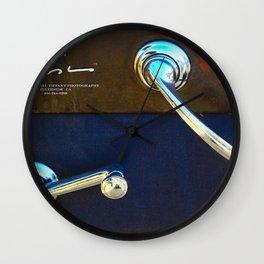 Classic Knobs Wall Clock