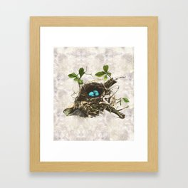 A commonplace miracle Framed Art Print