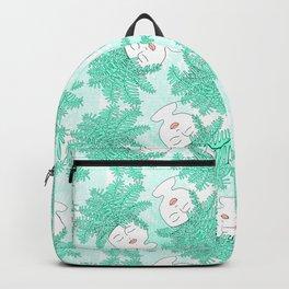 Fern-tastic Girls in Teal Backpack