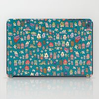 city iPad Cases featuring City by Catru