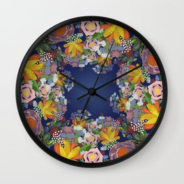Encircled Garden Wall Clock