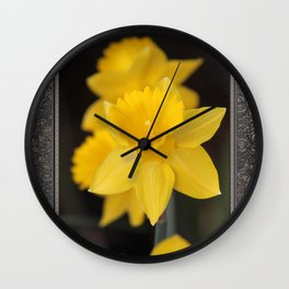 Trumpet Daffodil named Exception Wall Clock