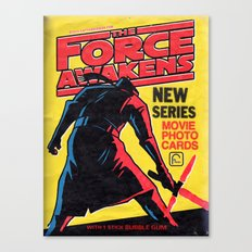 Awakening The Darkside - WaxPack Series 2 Canvas Print