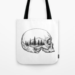 SKULL/FOREST Tote Bag