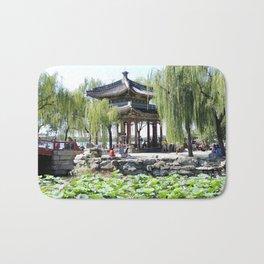 Ancient Imperial Garden of the Qing Dynasty | Ancien Jardin Impérial de la dynasty de Qings Bath Mat